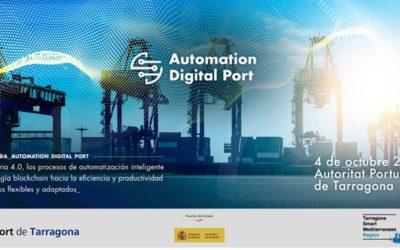 El Puerto acogerá el 4 de octubre la 2º edición de la jornada Automation Digital Port