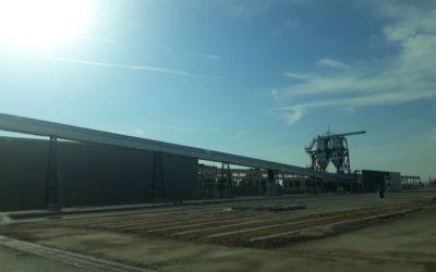 Tras más de un año sin operaciones, el Puerto recuperará en septiembre los tráficos de agroalimentario con la Terminal Intermodal de Monzón