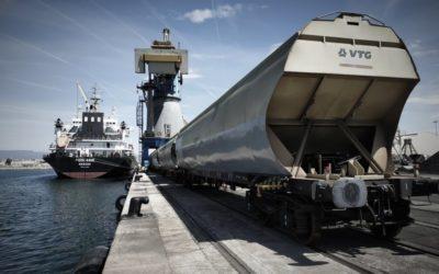 Nueva operativa de transporte de cereales con Zaragoza vía ferrocarril