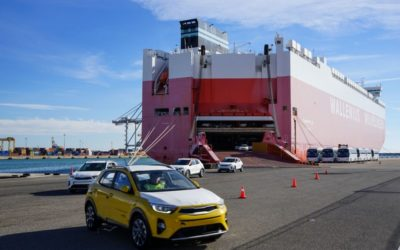 Bergé Gefco amplía el plazo de explotación de su plataforma logística de distribución de vehículos