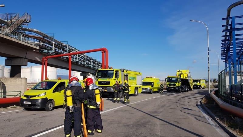El Puerto, Tepsa y Protección Civil de la Generalitat realizan un simulacro con éxito