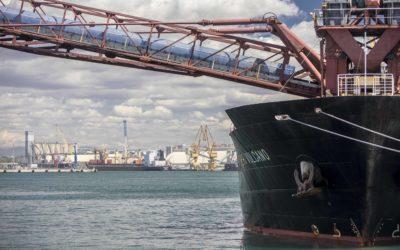El Puerto crece un 12% en noviembre y suma 30,4 millones de toneladas este año, un 5% más