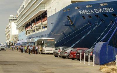 Los cruceros mantienen las escalas de mayo