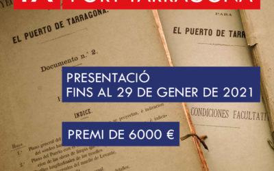Convocado el IX Premio de Investigación Puerto de Tarragona