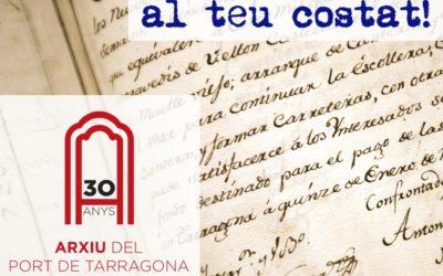 El Archivo del Puerto de Tarragona celebra sus 30 años de historia