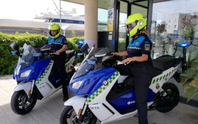 La Policía Portuaria incorpora dos motocicletas eléctricas