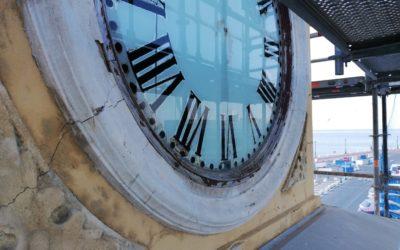 El Puerto empieza la rehabilitación integral de la emblemática Torre-Reloj
