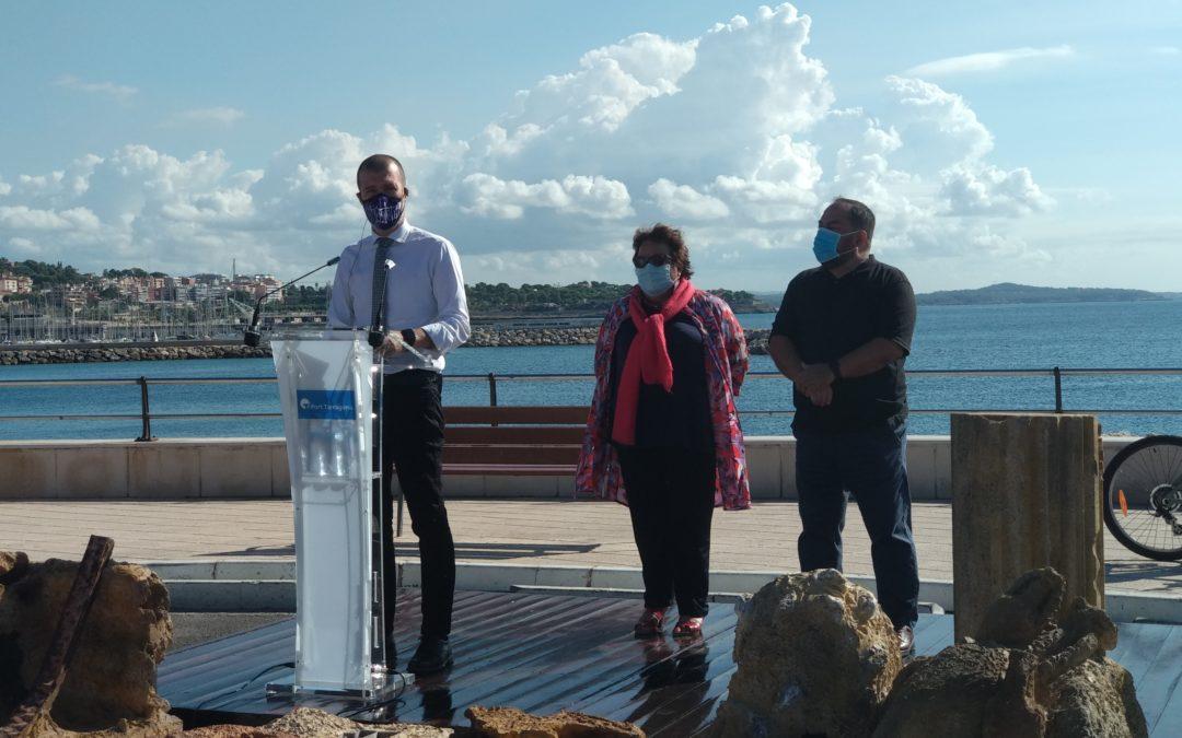 El Puerto y la URV impulsan un proyecto para regenerar la vida marítima mediante biotopos