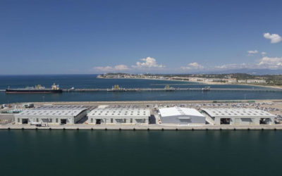 Euroports pide ampliar el objeto de su concesión en el muelle de Navarra