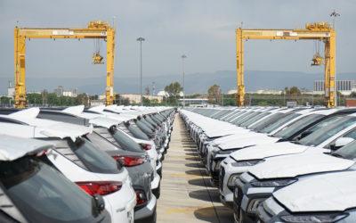 El Puerto mejora en la valoración de la logística de vehículos