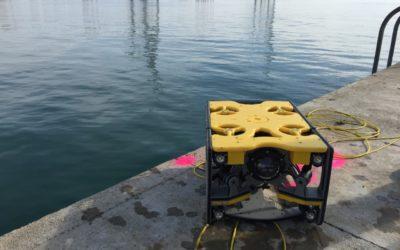 El Port inspecciona sus infraestructuras con un dron submarino
