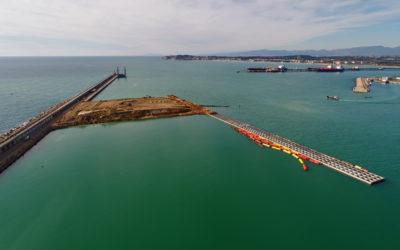 El Port encara la fase final de la construcción del muelle de Balears