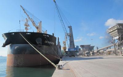 Qualimac detectó no conformidades en el 18% del granel agroalimentario que se descargó en el Port