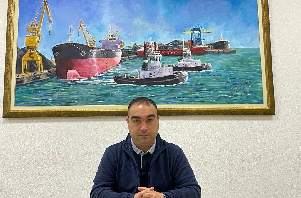 Jordi Inglés: 'Por fin hemos conseguido la paz social en el sector de la estiba del Port'