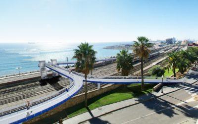 Inicio de obras de mejora de la 'Pasarela del Port'