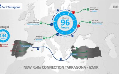 La línea Ro-Ro con Turquía se acerca a la plena ocupación tras dos meses de funcionamiento