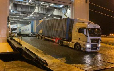 La ruta Ro-Ro con Turquía podría incorporar más frecuencias tras llegar a la plena ocupación
