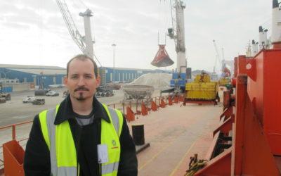 """Jordi Forés: """"Tarragona es el puerto que dispone de una mayor infraestructura para la descarga de graneles sólidos agroalimentarios"""""""