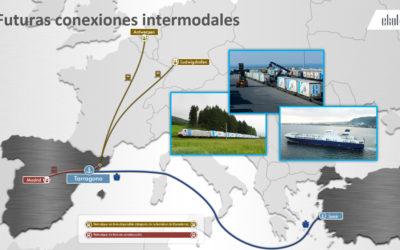 El Port iniciará nuevos servicios por ferrocarril con el centro de la Península, Amberes y Ludwigshafen