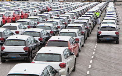 Volkswagen apuesta por transportar directamente sus vehículos desde el Port a Baleares