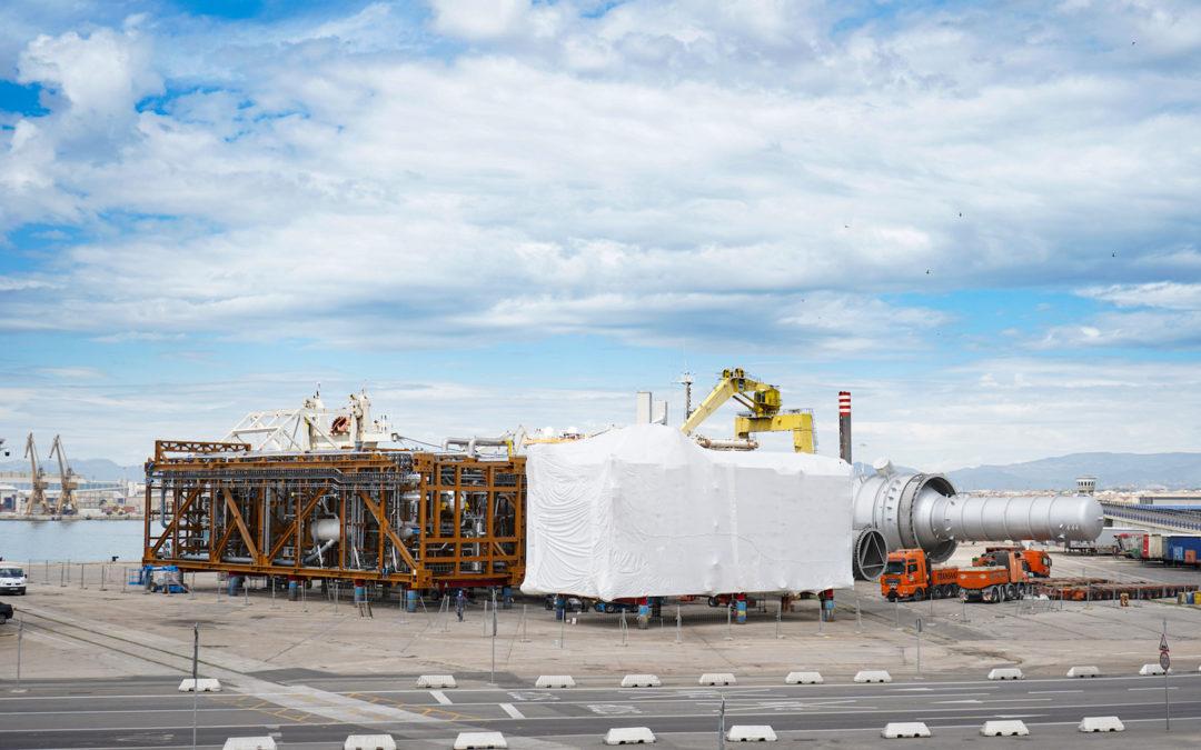 Schwartz-Hautmont finaliza en el Port dos grandes instalaciones para la industria petroquímica