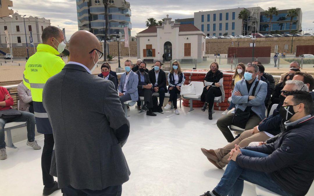El Port presenta sus proyectos tecnológicos al Clúster TIC Catalunya Sud
