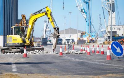 El Port mejora el firme en diferentes puntos de sus instalaciones