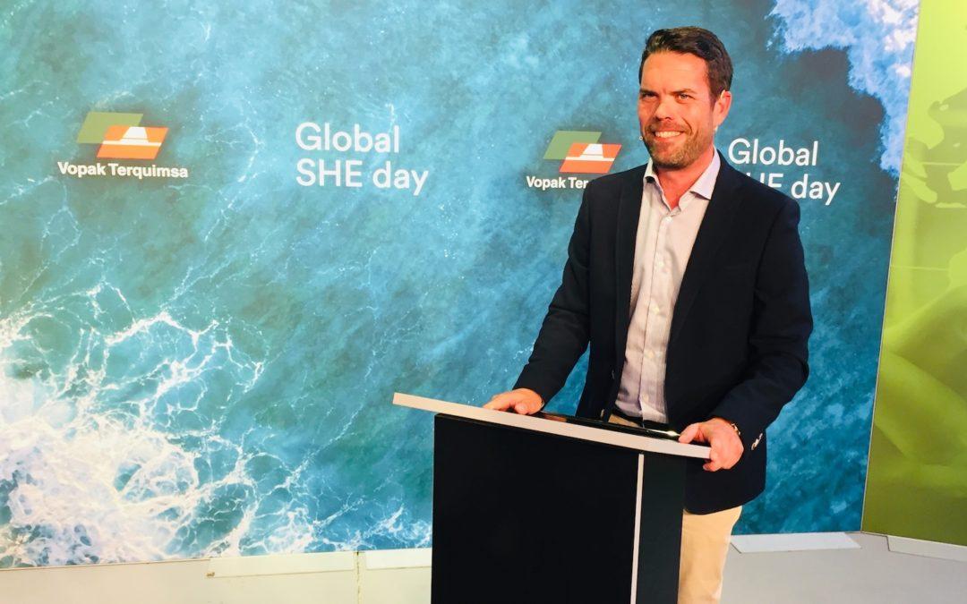 La agenda de sostenibilidad marcha el Global She Day 2021 de Vopak Terquimsa