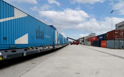 Ekol Logistic pone en marcha un servicio regular de contenedores en tren hasta Madrid