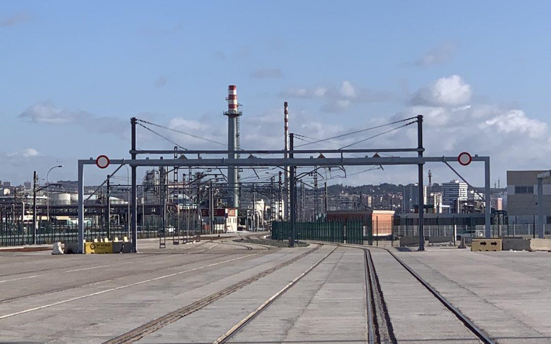 Tarragona, el puerto que más expansión ha experimentado en España en conexiones ferroportuarias