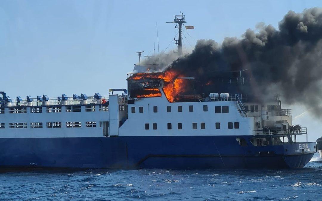 El Elbeik seguirá en el Port hasta que finalicen los trámites de inspección y seguros