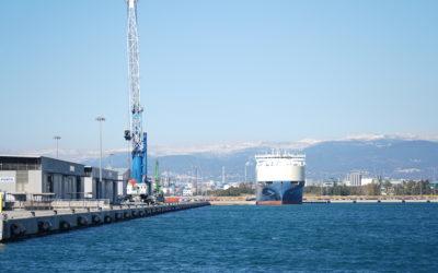 El Port otorga a Euroports más espacio para el tráfico ro-ro