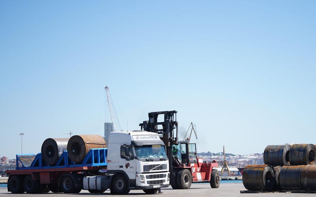 El Port suma 2,7 millones de toneladas en septiembre y supera los 23 millones de toneladas en el acumulado, un 22% más